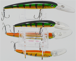 XTackle Deep Diving Crankbait Green Perch
