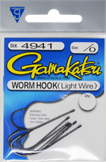 Gamaktasu Worm Hook Light Wire