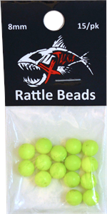 Flo Chart Rattle Beads 8mm