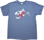 Free with $40.00** Purchase XTackle Indigo Blue Tee Shirts (Red, White, & Blue)