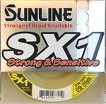 Sunline SX-1 Braid 125 Yard Spools 12lb Hi-Visible Yellow