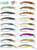 XTackle Reef Runner Color Chart