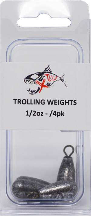 Trolling Weight for Snap Clips