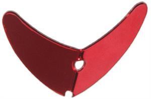 Mack's Lures Smile Blade Red Mirror