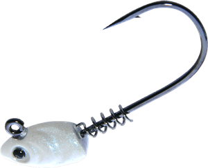 Gamakatsu Superline Swim Bait Head Pearl White