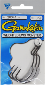 Gamakatsu Weighted Monster EWG
