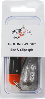 5oz Trolling Weight and Snap Clip