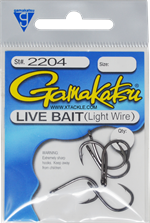 Gamakatsu Live Bait Light Wire