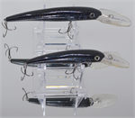 "XTackle XTDR4-SP49 4"" Black Viper Deep Diving Crankbait"
