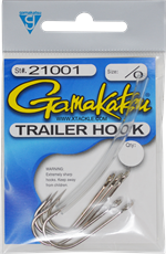 Gamakatsu Trailer Hook w/Surgical Tubing