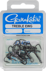 Gamakatsu EWG Treble NS Black